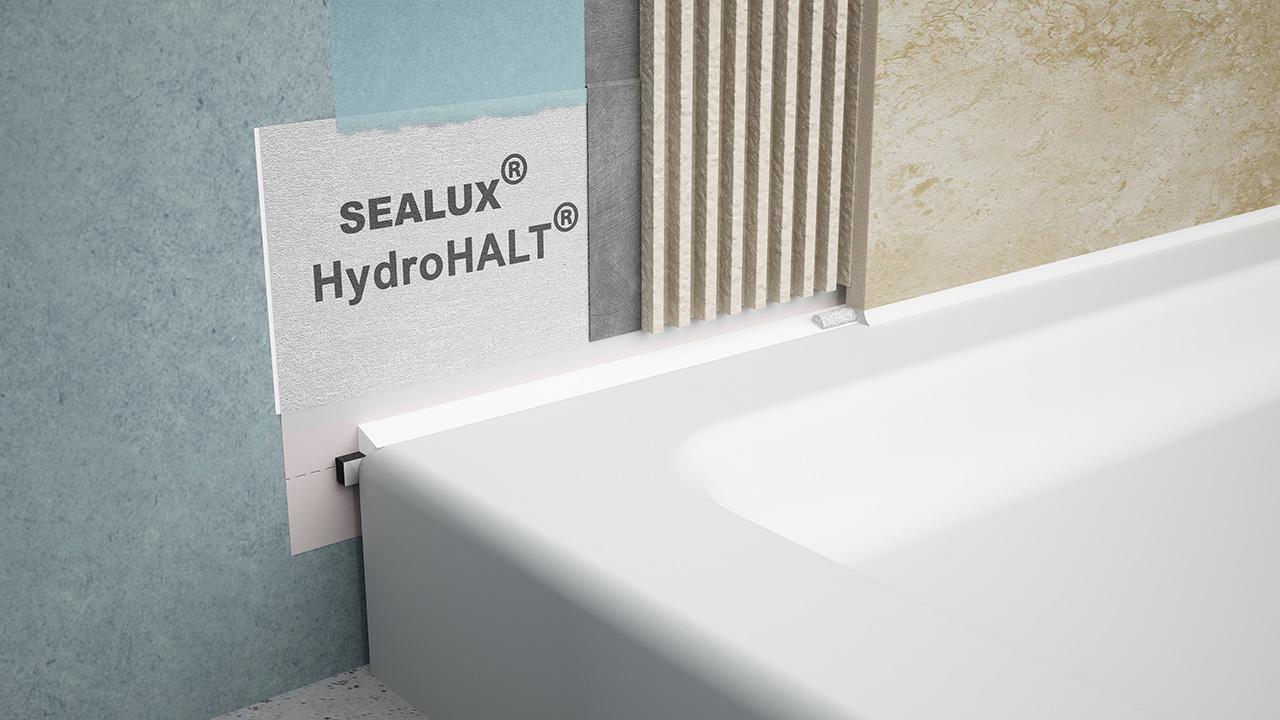 Sealux HydroHALT & BAL Waterproofing Kit