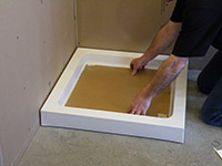 Protect-shower-tray-base
